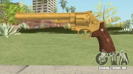 Smith And Wesson M29 Revolver (Gold) para GTA San Andreas