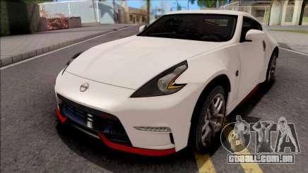 Nissan 370Z Nismo White para GTA San Andreas
