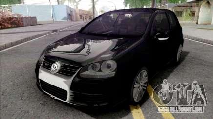 Volkswagen Golf R32 Black para GTA San Andreas