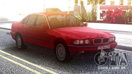 BMW 730 E38 Red Original para GTA San Andreas