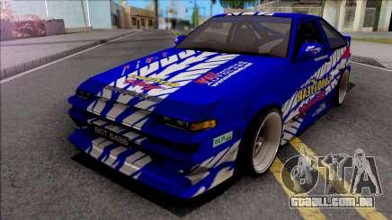 Toyota Sprinter Trueno AE86 Goodyear Racing para GTA San Andreas