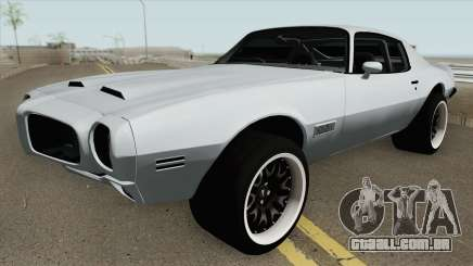 Pontiac Firebird RHD 1970 para GTA San Andreas