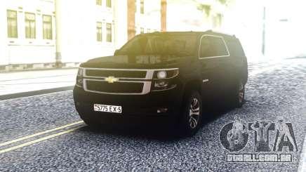 Chevrolet Suburban Offroaf Black para GTA San Andreas