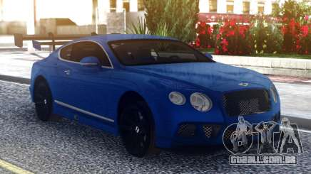Bentley Continental Sport Blue para GTA San Andreas