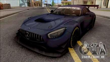 Mercedes-AMG GT3 2015 Paint Job Preset 1 para GTA San Andreas