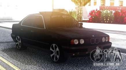 BMW 535 Black Original Sedan para GTA San Andreas