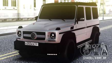 Mercedes-Benz G 350 Bluetec 2013 para GTA San Andreas