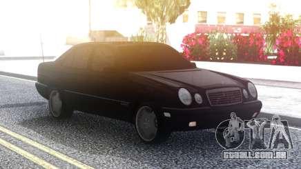 Mercedes-Benz E420 Classic Black para GTA San Andreas