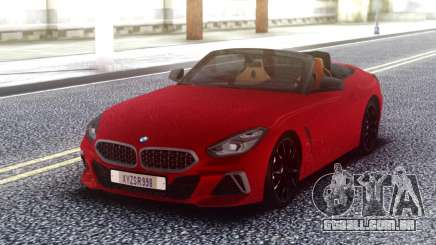 BMW Z4 Red Cabrio para GTA San Andreas