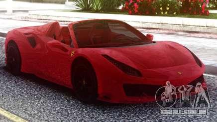 Ferrari 488 Pista Spider 2019 Roadster para GTA San Andreas
