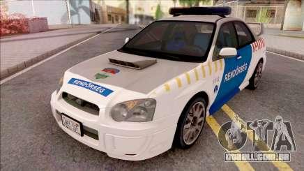 Subaru Impreza WRX STi 2004 Magyar Rendorseg para GTA San Andreas