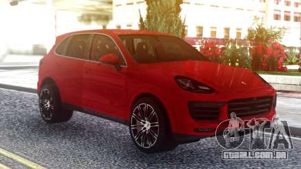 Porsche Cayenne Turbo S Red Original para GTA San Andreas