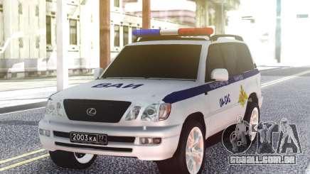 Lexus VAI LX470 para GTA San Andreas