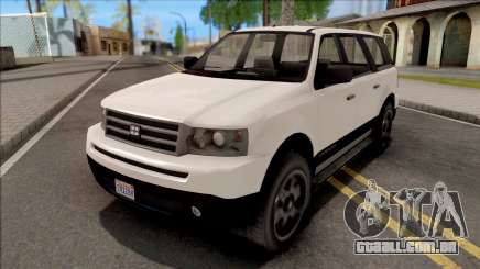 GTA V Dundreary Landstalker para GTA San Andreas