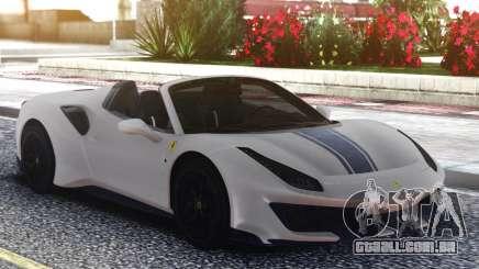 Ferrari 488 Pista Spider 2019 para GTA San Andreas