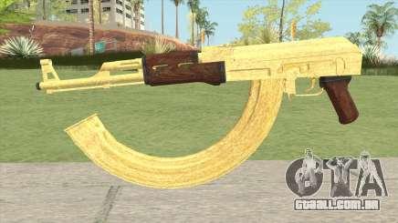 AK-47 Gold HQ para GTA San Andreas