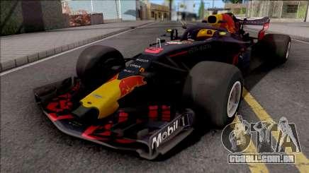 F1 Redbull 2018 para GTA San Andreas