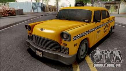 GTA III Declasse Cabbie IVF Style para GTA San Andreas