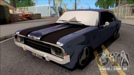 Opel Rekord C Sedan 2 Doors 1968 para GTA San Andreas