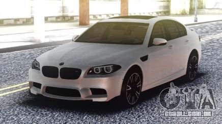 BMW M5 F10 Original White para GTA San Andreas