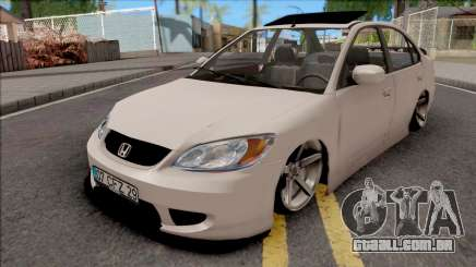 Honda Civic White para GTA San Andreas