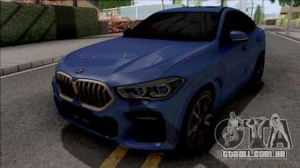 BMW X6 M50i 2020 para GTA San Andreas