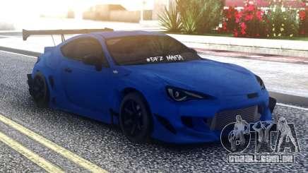 Toyota GT86 Blue para GTA San Andreas