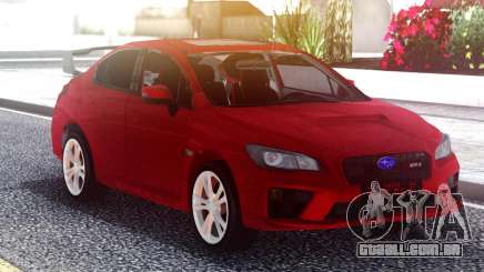 Subaru WRX 2015 Red Original para GTA San Andreas