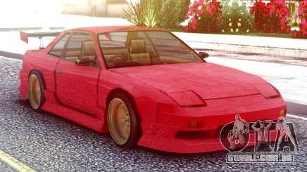 Nissan Silvia S13 Onevia Red para GTA San Andreas