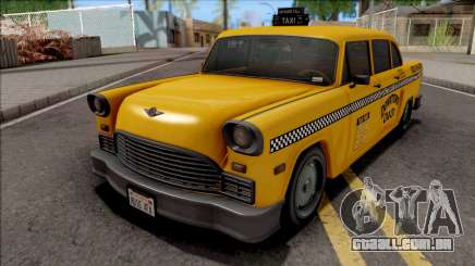 GTA III Declasse Cabbie SA Style para GTA San Andreas