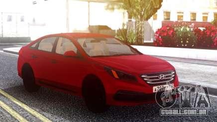 Hyandai Sonata 2016 para GTA San Andreas