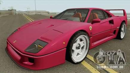 Ferrari F40 1987 HQ para GTA San Andreas