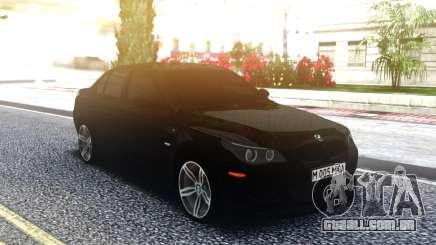 BMW M5 E60 Original Black Edition para GTA San Andreas