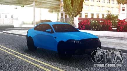 BMW M2 Coupe Blue para GTA San Andreas
