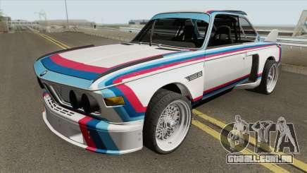 BMW 3.0 CSL 1975 (White) para GTA San Andreas