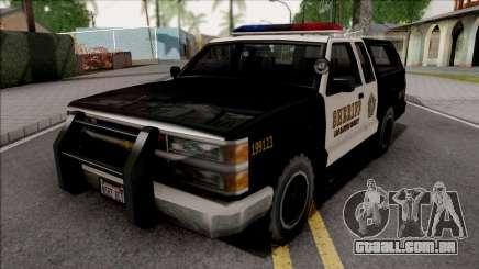 Chevrolet Silverado Police SA Style para GTA San Andreas