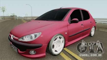 Peugeot 206 V4 para GTA San Andreas