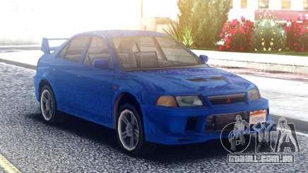 Mitsubishi Lancer Evolution VI Tommi Makinen para GTA San Andreas
