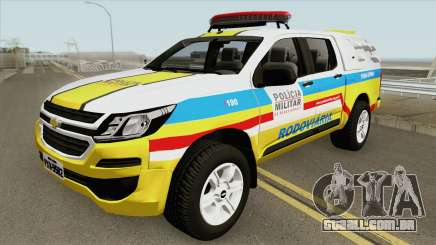 Chevrolet S10 2017 (Rodoviaria PMMG) para GTA San Andreas
