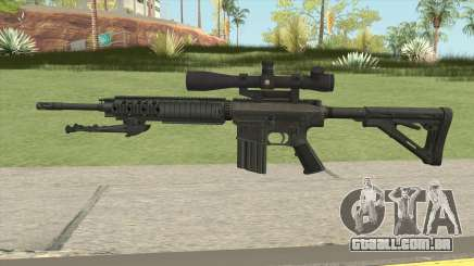 KAC SR-25 Semi Automatic Sniper Rifle para GTA San Andreas