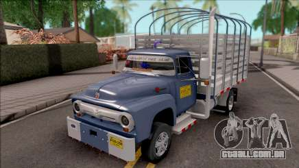 Ford F-350 Con Estacas para GTA San Andreas