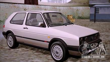 Volkswagen Golf 2 GTI Transit Plates para GTA San Andreas