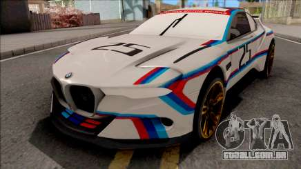 BMW CSL 3.0 Hommage R 2015 para GTA San Andreas