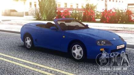 Toyota Supra Cabrio Blue para GTA San Andreas