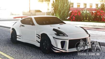 Nissan 370Z White Edition para GTA San Andreas