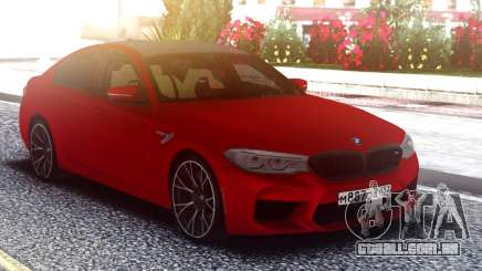 BMW M5 F90 Original Red para GTA San Andreas