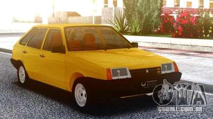 VAZ-2108 Amarelo para GTA San Andreas
