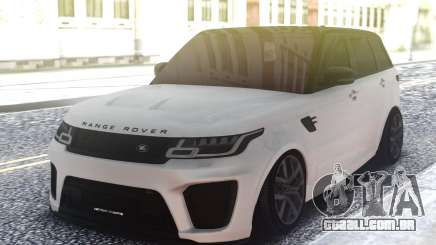 Range Rover Sport SVR Low para GTA San Andreas