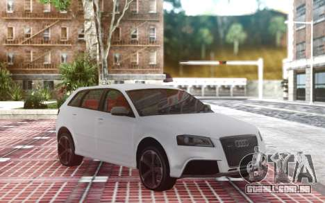 Audi RS3 para GTA San Andreas