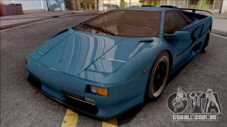 Lamborghini Diablo SV 1995 para GTA San Andreas